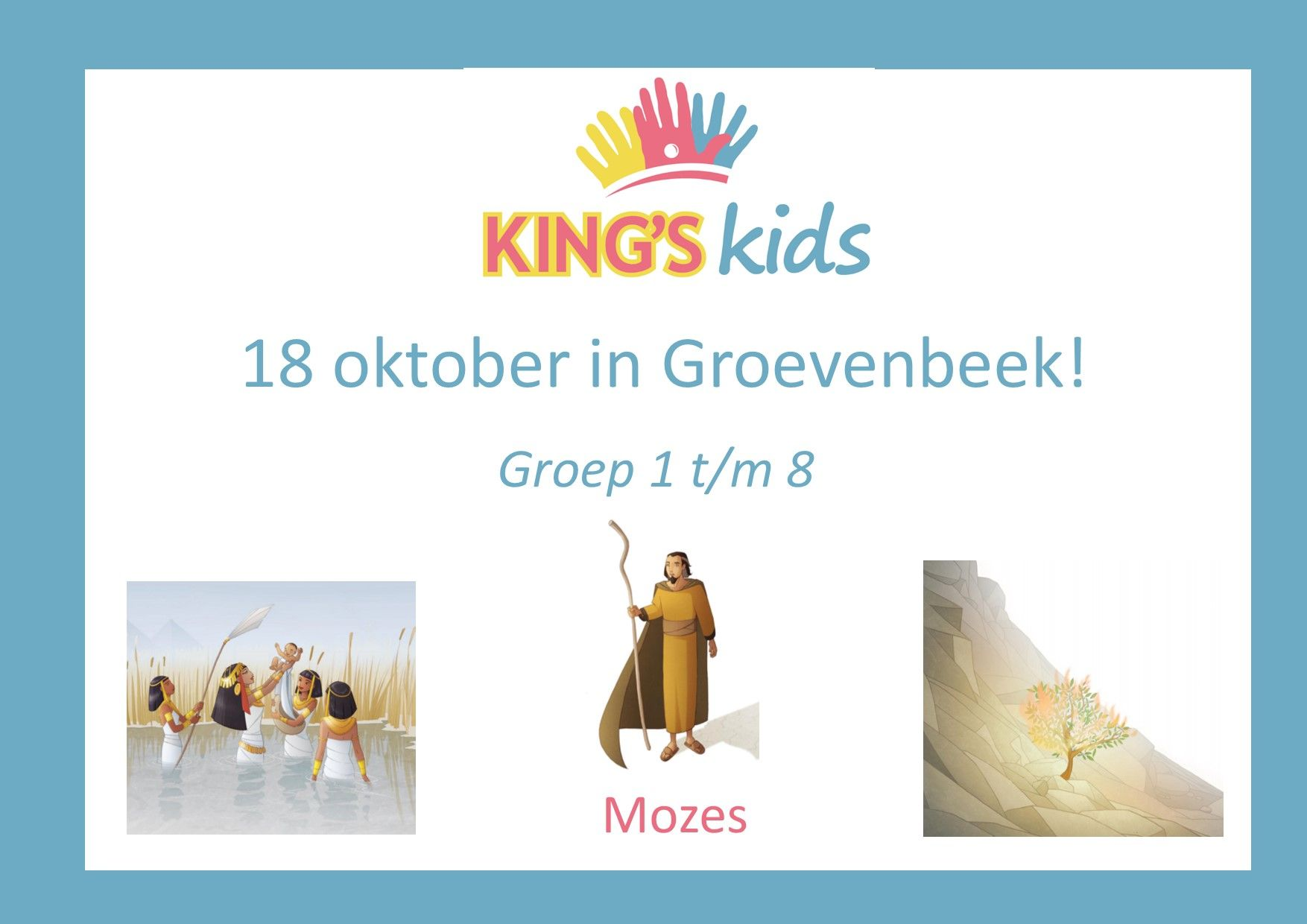 King's Kids Kinderdienst 18 oktober