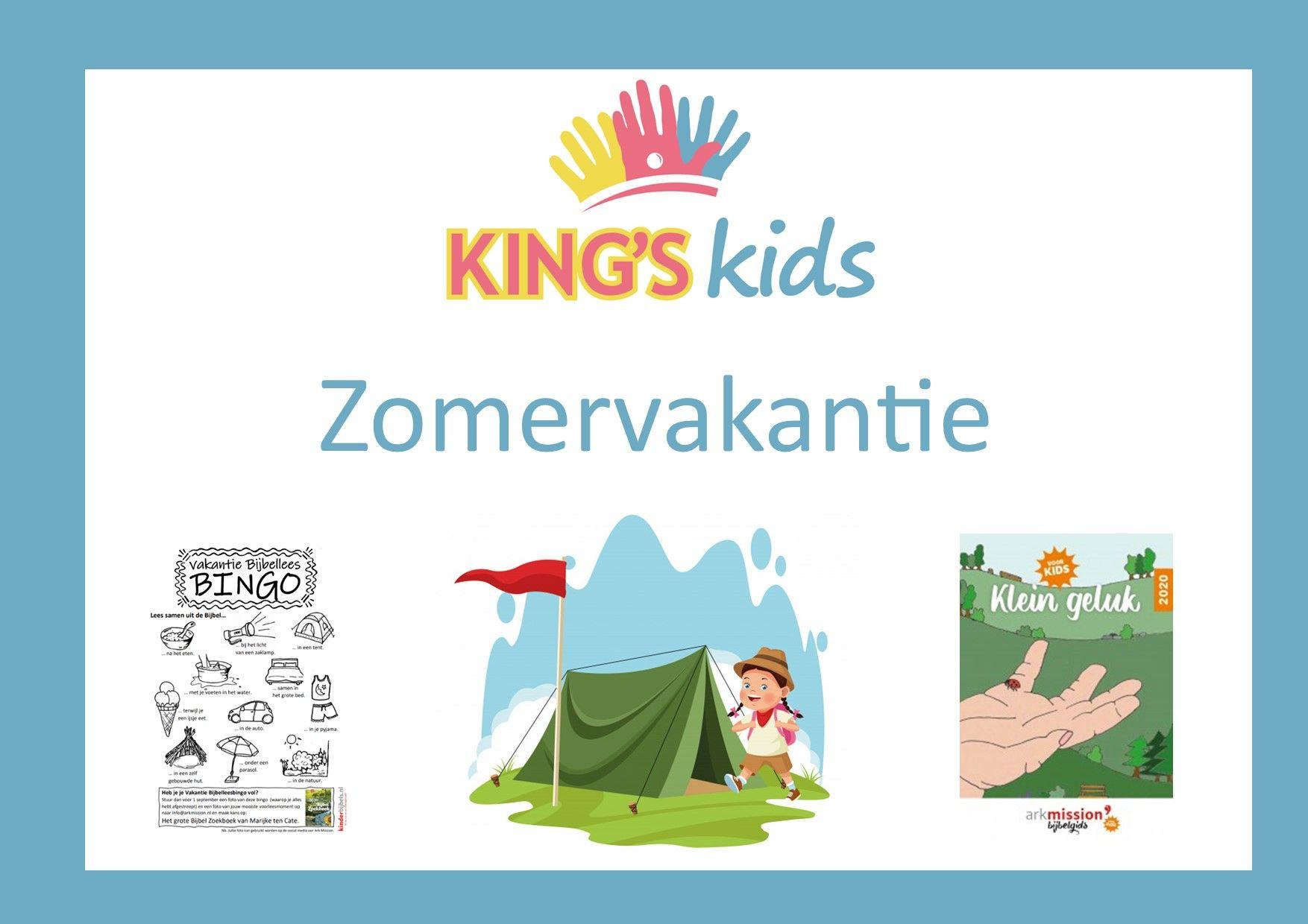 Kings Kids zomervakantie