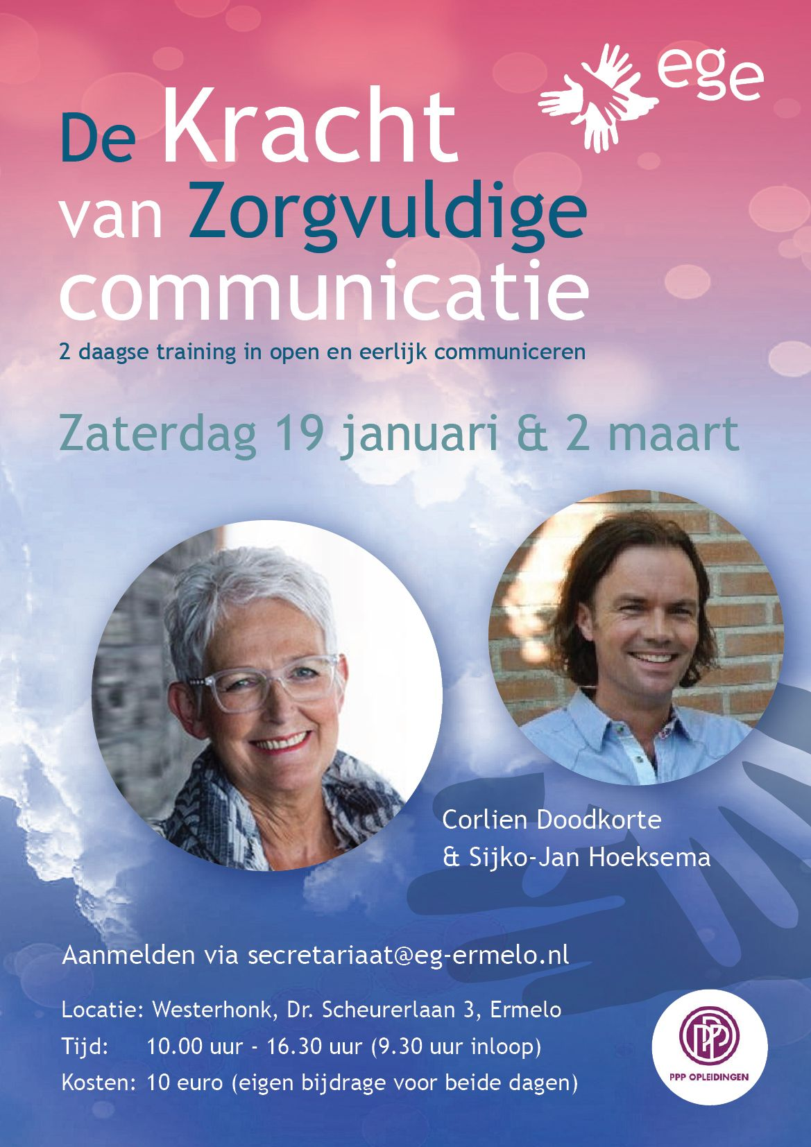 Training 'De Kracht van Zorgvuldige Communicatie'