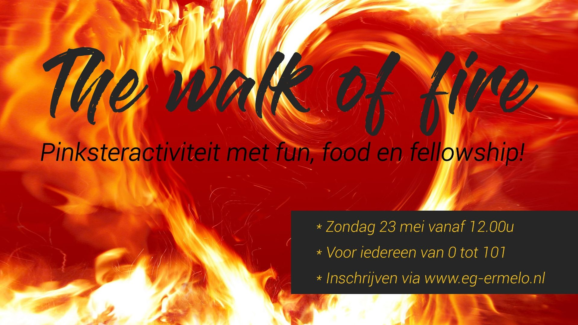 The walk of fire