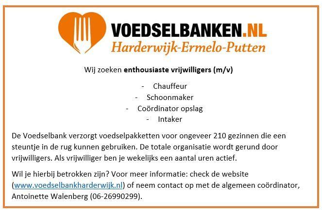 Vacature Voedselbank