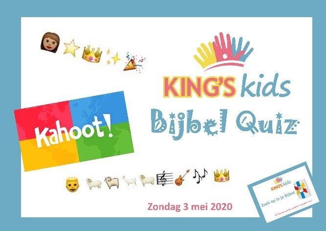 Uitgelezene King's Kids Kinderdienst voor thuis 3 mei 2020 | Evangeliegemeente IL-17